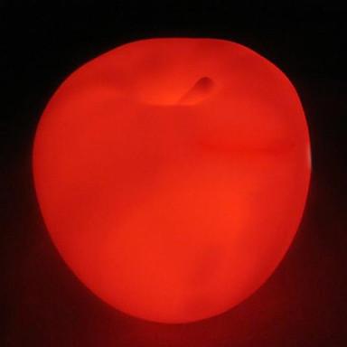 elma şeklindeki renk led gece lambası değişiyor