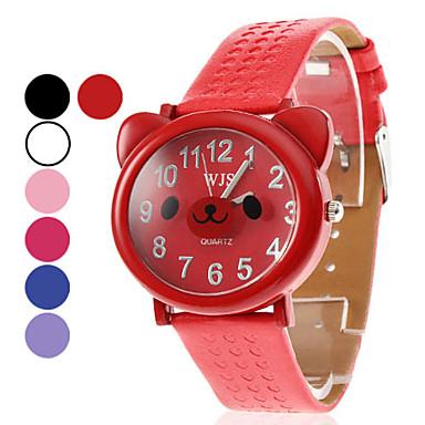 Unisex PU Analoog Quartz Wrist Watch (verschillende kleuren)