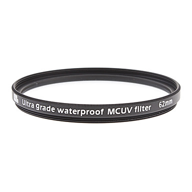Multi-coating, Harden and Waterproof UV Filter 62mm