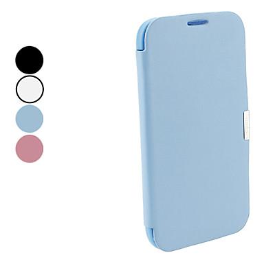 מארז אלגנטי מוצק צבע עור PU גוף מלא לסמסונג גלקסי 2 שים לב N7100 (צבעים שונים)
