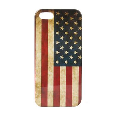 Ретро нами картины флага жесткий футляр для iphone 5/5s
