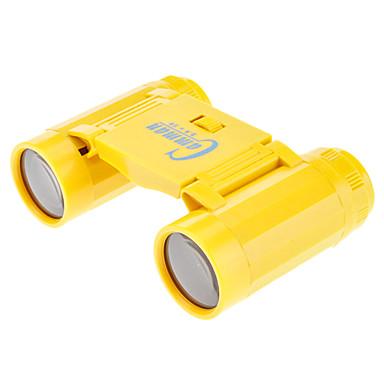 Camman 2.5x26 giallo binocolo in miniatura di plastica portatili