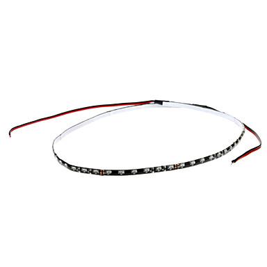 60cm 2W 30x335SMD Blue LED Strip Light for Car Instrument/License Plate Lamp (12V)