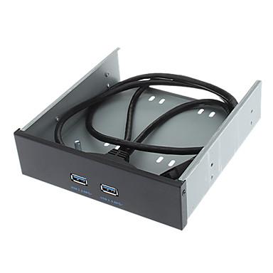 4.8Gbps USB 3.0 Pannello frontale Compatibile con USB 1.1 e USB 2.0 (0.8 m)