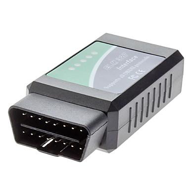 Alta velocità V1.5 attrezzo diagnostico universale ELM-327 Interfaccia Bluetooth con LED per Auto