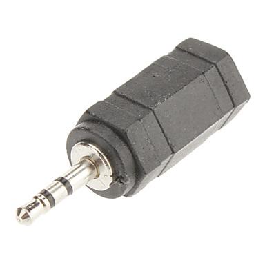 2,5 mm a 3,5 m / f adaptador de audio