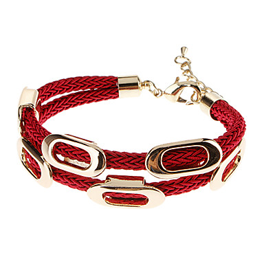 Women's Chain Bracelet Leather Bracelet Leather Jewelry For Party