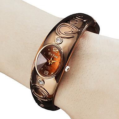 Women's Wrist watch Bracelet Watch Fashion Watch Quartz Band Bangle Bronze