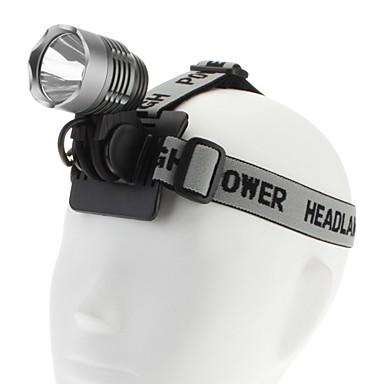 1200LM High Power Oppladbart sykkel lys og frontlys (med batteri og lader)
