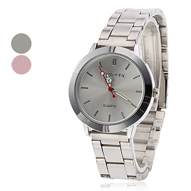 Women's Steel Quartz Analog Wrist Watch (Assorted Colors) Cool Watches Unique Watches