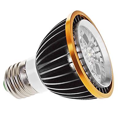 5W E26/E27 Focos LED MR16 5 LED de Alta Potencia 350 lm Blanco Cálido Regulable AC 100-240 V