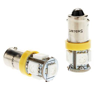 Araba Sarı 1W SMD 5050 Okuma Işığı Plaka Aydınlatma Lambası Yan Lambalar