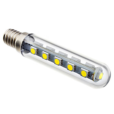 2.5W 6000lm E14 LED a pannocchia T 16 Perline LED SMD 5050 Bianco 220-240V