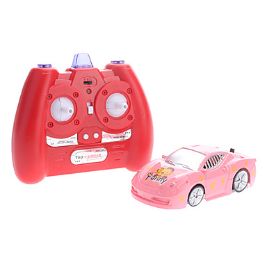 Red Wall Climbing Remote Control Car