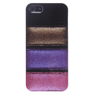 Four Colors in Line Hard Case for iPhone 5/5S
