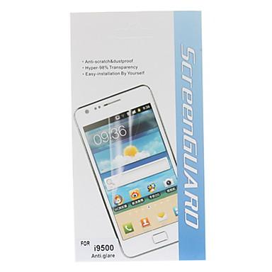 Anti-Glare Screen Protector kanssa puhdistusliina Samsung Galaxy S4 I9500