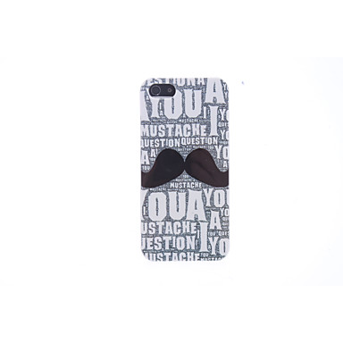 Interesting Moustache Hard Case for iPhone 5/5S