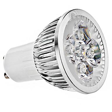 5W GU10 LED Spotlight MR16 4 leds High Power LED 400lm Warm White Cold White AC 85-265