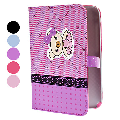 Bear in Skirt Pattern Full Body PU Leather Protective Case with Stand for Samsung Galaxy Note 8.0 N5100 (Assorted Colors)