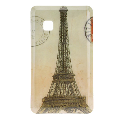 Retro Tower Pattern Hard Case for LG T375