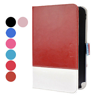 Double-Color PU Leather  Case with Stand and Card Slot for Samsung Galaxy Note 8.0 N5100 (Assorted Colors)
