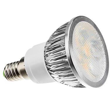 3W 260-300 lm E14 Lâmpadas de Foco de LED 4 leds LED de Alta Potência Regulável Branco Quente Branco Frio Branco Natural AC 220-240V