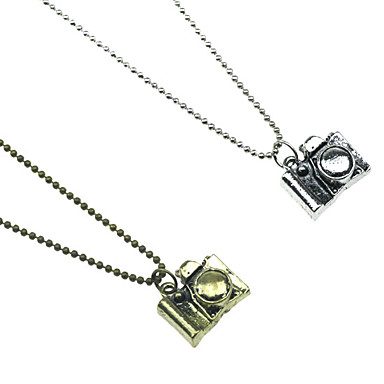 Retro Small Camera Pendant Necklace/Sweater chain(2 PCS)