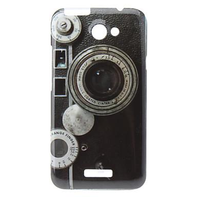 Disegno della macchina fotografica Custodia rigida per HTC G23 uno X S720e