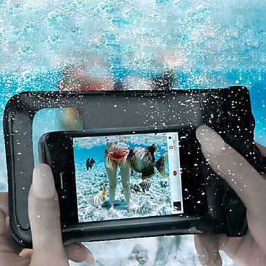 För Vattentät med fönster fodral Liten påse fodral Enfärgat Mjukt PC för UniversellS4 Mini S4 S3 Mini S3 S2 S Note 2 Note Y Mega Grand