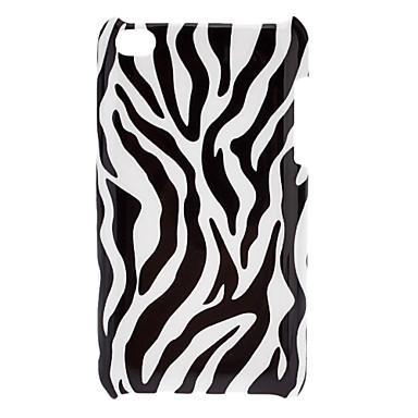 Zebra Pattern Hard Case for iPod touch 4