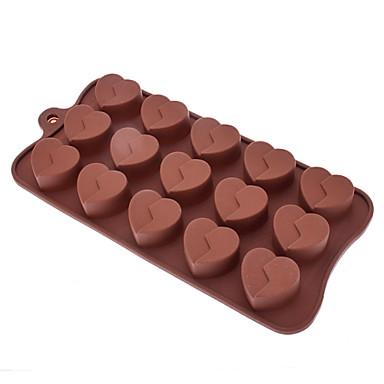 Şeker / Çerez / Jelly / Çikolata Şekilli Sugarcraft Silikon Kalıp Aşk