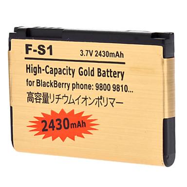 2430mAh PDA Battery Pack for Blackberry 9800/9810 (3.7V)