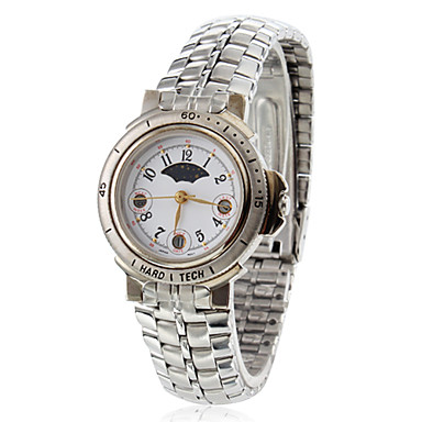 Women's Alloy Analog Quartz Wrist Watch (Silver)
