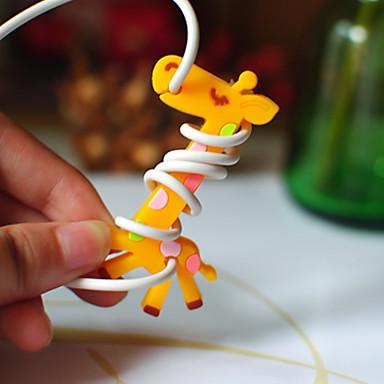 Zürafa kauçuk bobin sarıcı (rastgele renk)