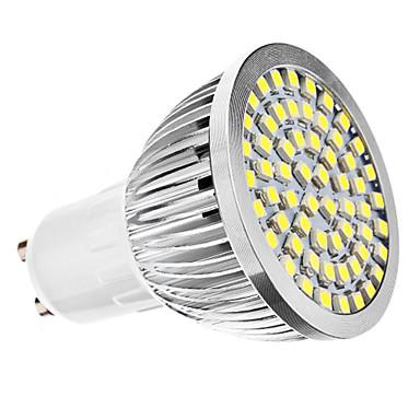 6500 lm GU10 LED Spotlight MR16 60 leds SMD 3528 Natural White AC 110-130V AC 220-240V