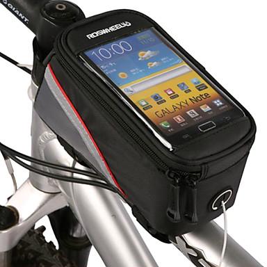 ROSWHEEL Bike Bag Bike Frame Bag Cell Phone Bag Phone/Iphone Touch Screen Bicycle Bag PVC Cycle Bag iPhone 5C iPhone 4/4S Iphone 5/5S