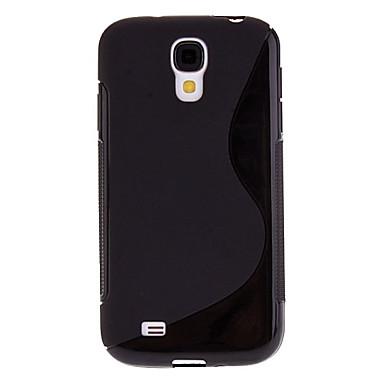 Için Samsung Galaxy Kılıf Kılıflar Kapaklar Other Arka Kılıf Pouzdro Solid Renkli TPU için Samsung S4
