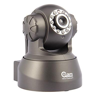 0.3 MP İç Mekan with Gece Gündüz Premium Gece Gündüz Hareket Algılama Uzaktan Erişim Tak Çalıştır/Oynat Wi-Fi Korumalı Kurulum) IP Camera