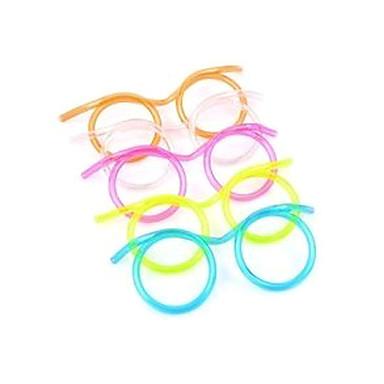 Gözlük Tasarım Straw (Rastgele Renk)