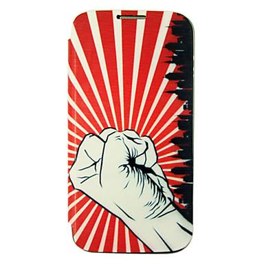 Faust Battery Cover Lederetui für Samsung Galaxy i9500 S4