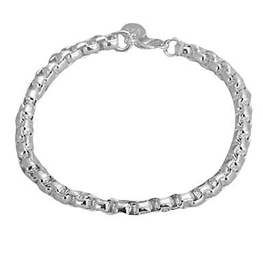 Zincir gümüş bilezik