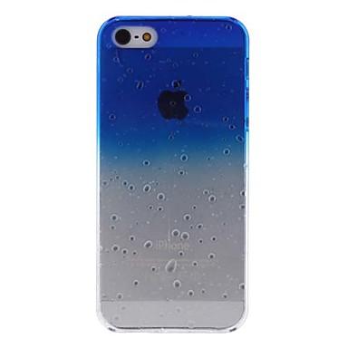 kropla wody projekt twarde etui do iPhone 5/5s (różne kolory)