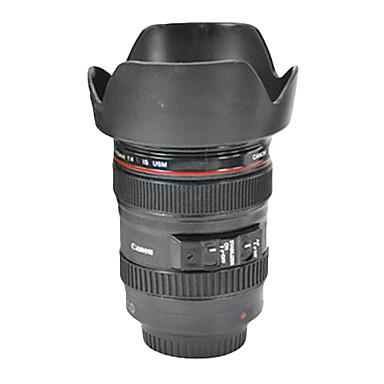 style de lentille de la caméra de simulation unique de tasse de café en plastique 400ml tasse