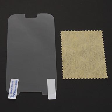 Protecteur d'écran pour Samsung Galaxy S4 PVC Ecran de Protection Avant Anti-Rayures