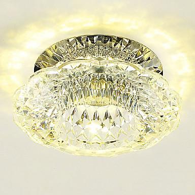economico Luci da soffitto-LightMyself™ Montaggio del flusso Faretto Cristallo, Stile Mini, Con LED 110-120V / 220-240V Bianco caldo / Bianco freddo / LED integrato