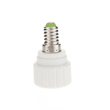 E14 to GU10 LED Bulbs Socket Adapter High Quality Lighting Accessory