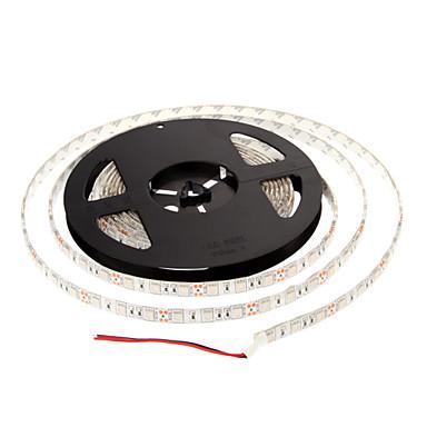 Su geçirmez 5M 60W 60x5050SMD 3000-3600LM Mavi Işık Şerit Işık (DC12V) LED