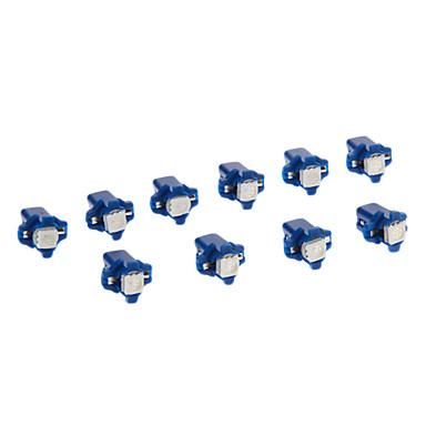 Araba Mavi SMD 5050 6000 Gösterge Işıkları Plaka Aydınlatma Lambası Sinyal Lambası Fren Işığı