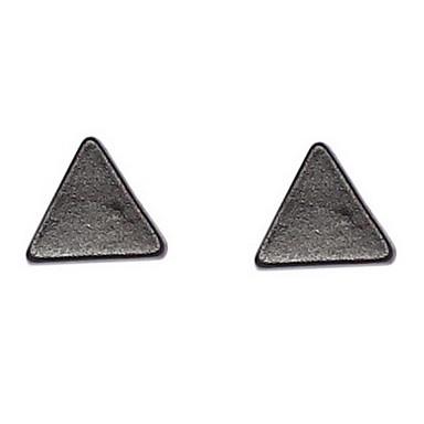 Per donna Orecchini a bottone Lega Triangolo Di forma geometrica Gioielli Quotidiano
