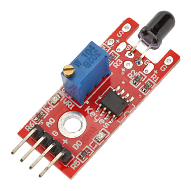(Arduino için) diy projesi için alev algılama sensörü modülü